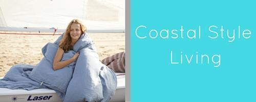 Coastal style and nautical themed decor for your home