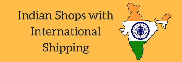 Indian shopping sites with international delivery