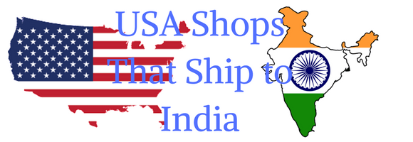 USA shopping sites that ship to India
