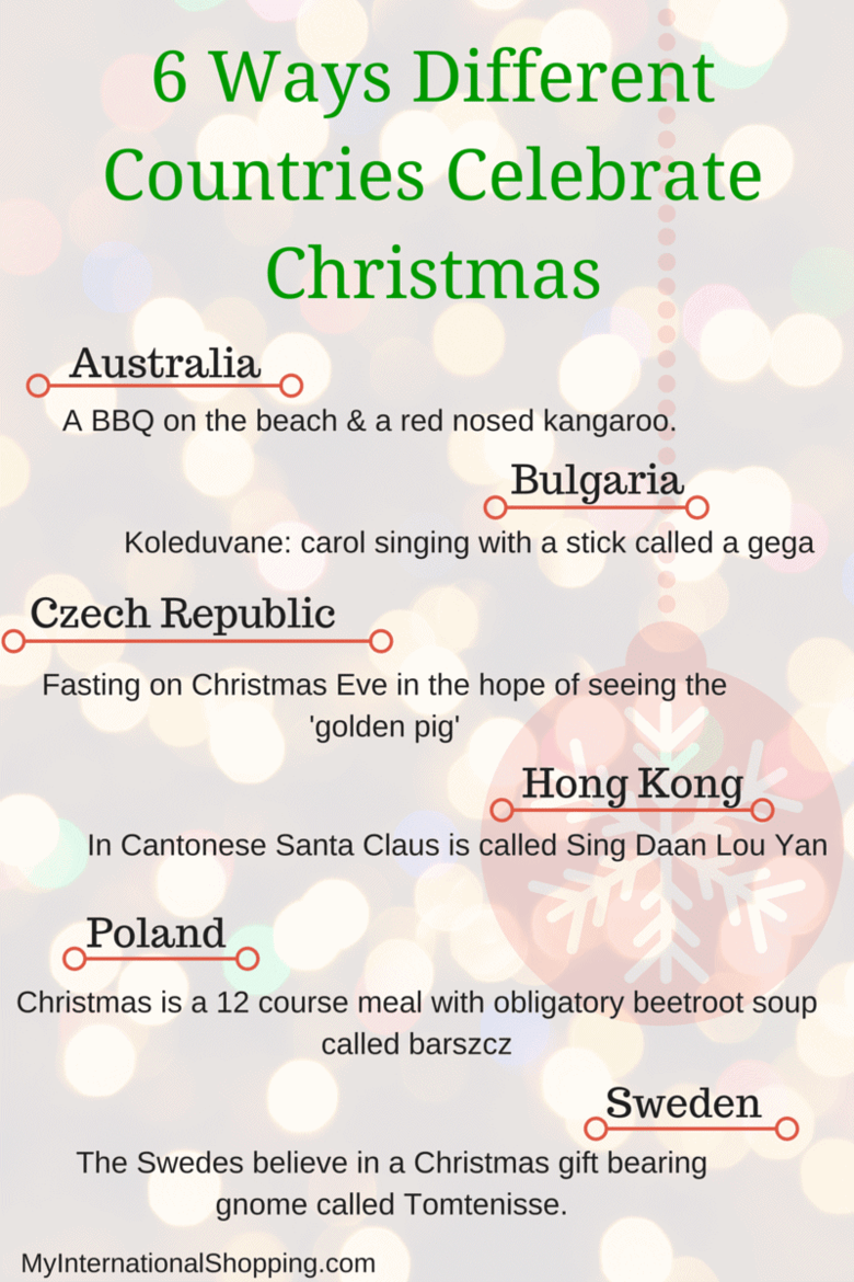 how do you celebrate christmas in your country