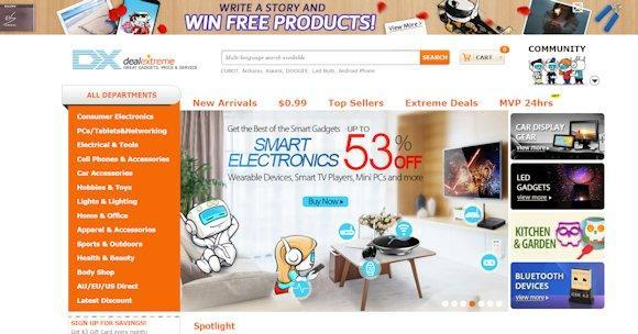 a0e8e6f5eb Hong Kong based Deal Extreme are also good for international delivery and  shipping. DealExtreme at DX.com sell a large range of items including  computing ...