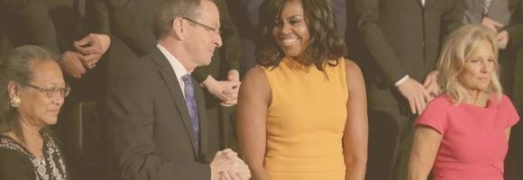 Michelle Obama's dress sells out at Neiman Marcus