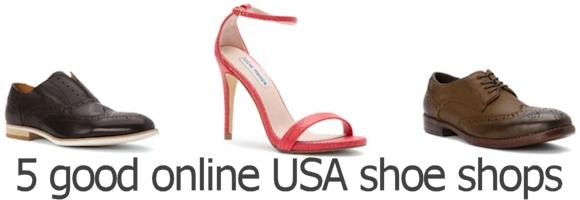 5 USA online shoe shops with international shipping