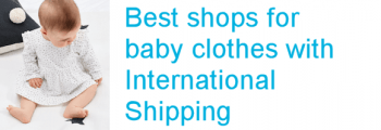 Baby clothes international shipping